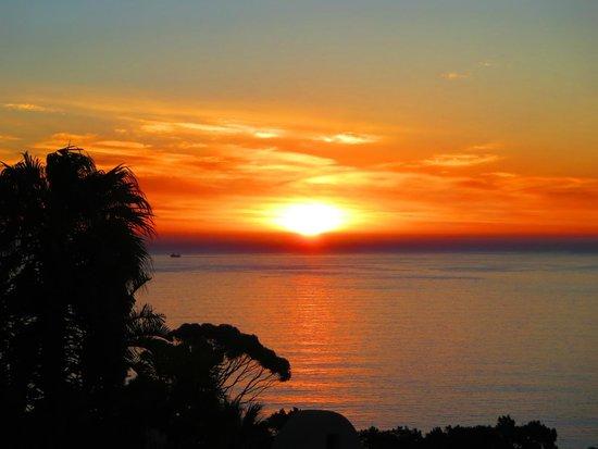 Entabeni Guest House: Sunset