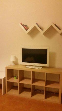 Residenza Fulco: TV in sala