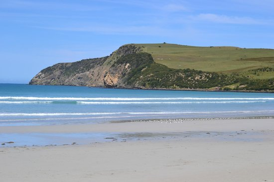 Cape Bridgewater, Australia: View to Cape from the beach near the cafe