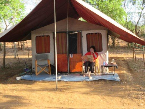 Mahoora Tented Safari Camp - Udawalawe: Our accomodation