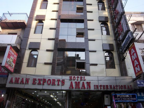 Hotel Aman International: another view from the front