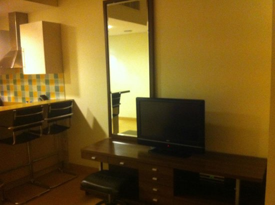 Tulip Hotel Apartments: From Inside the room