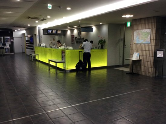 Comfort Hotel Central International Airport : フロント