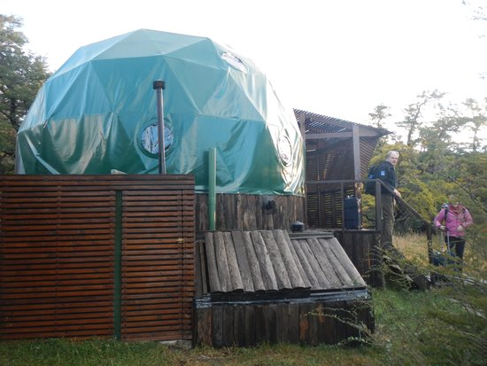 Ecocamp Patagonia : Our Dome