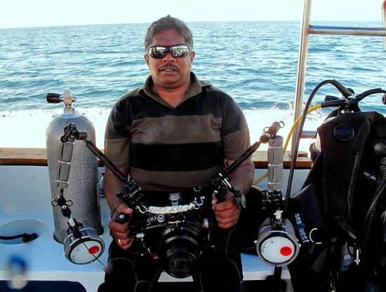 Miguel's Diving Gorontalo: All set for the Dive