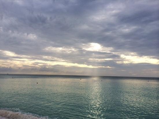 The Ritz-Carlton, Grand Cayman: awaiting sunset