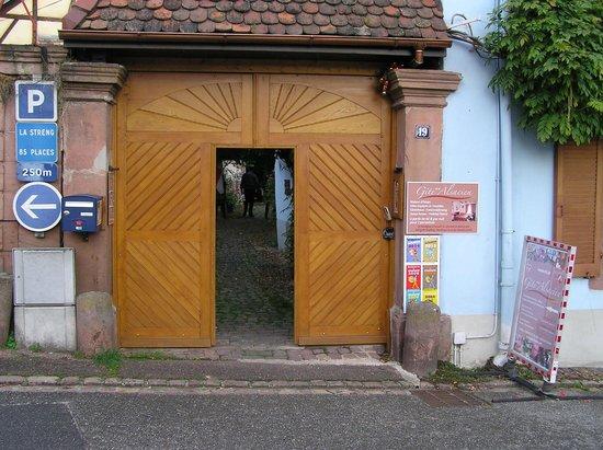 Gite Alsacien : De mooie ingang