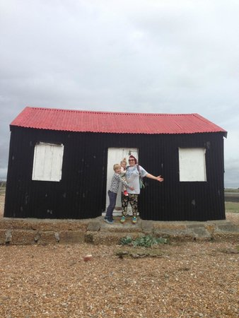 Rye Harbour Nature Reserve: The red house