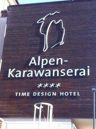 Logo picture of alpen karawanserai time design hotel for Designhotel alpen