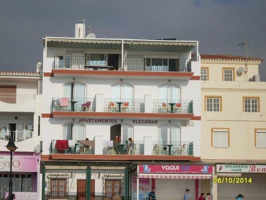 Apartamentos Plazamar: apartments from the beach