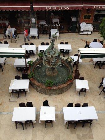 Apartamentos Plazamar: square view