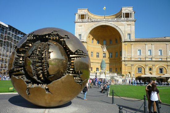 Sphere within a Sphere: The bronze sphere