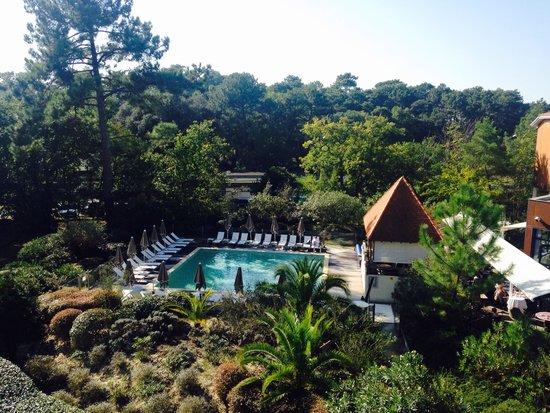 Hotel les bains d'Arguin : Vue de la chambre