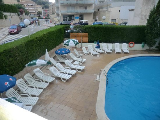 MedPlaya Hotel Esmeraldas: vista piscina dalla camera