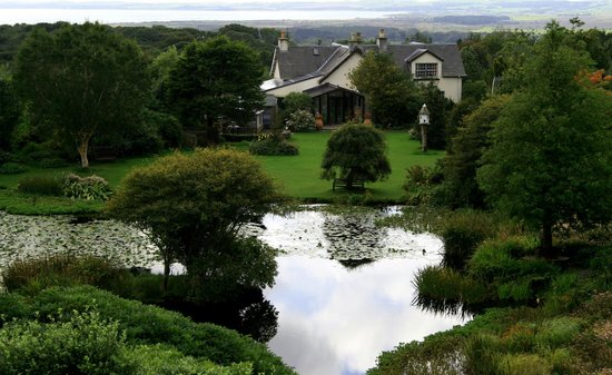 Dunragit, UK: View of Glenwhan House