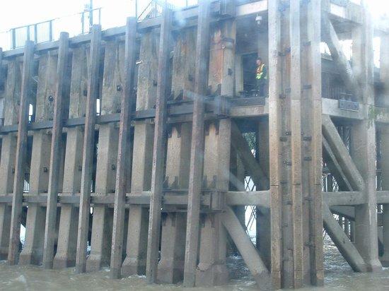 Penarth Pier Pavilion: Penarth Pier from the Barmoral