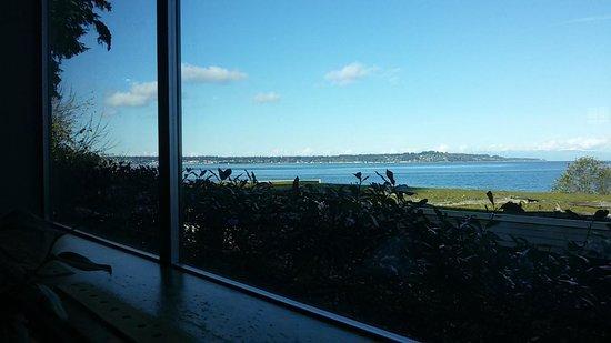 Kingfisher Oceanside Resort and Spa: vista dal ristorante