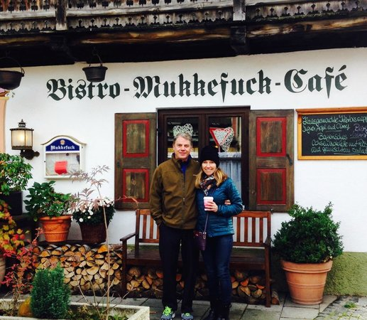 All Things Garmisch - Day Tours: Perfect non-touristy fun and delicious lunch spot in Garmisch. Thanks for taking the photo Jake!