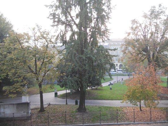 Hotel Roma e Rocca Cavour: Blick vom Fenster