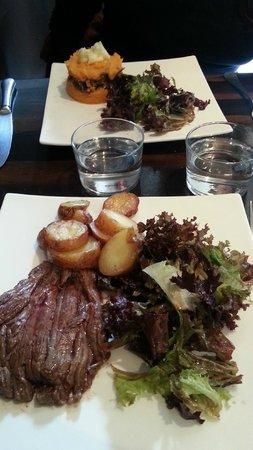L'Epouvantail: Hauptgericht inkl. Cafe Top