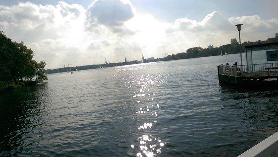 Novotel Hamburg City Alster: Le Lac en centre ville