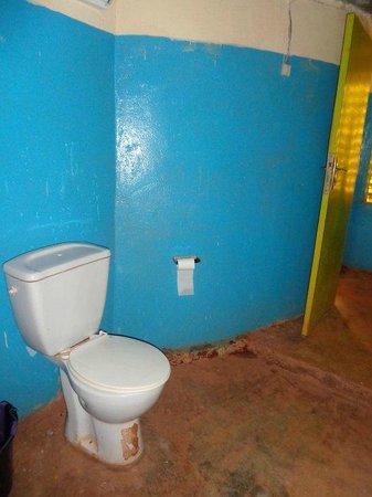 Tikare, Burkina Faso: salle de bain