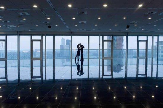 Inntel Hotels Rotterdam Centre: Panorama Zaal 16e etage