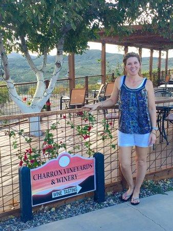 Charron Vineyards & Winery: Great patio!