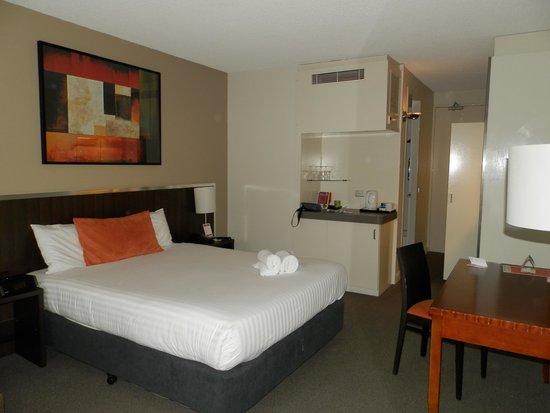 Travelodge Hotel Perth: la camera