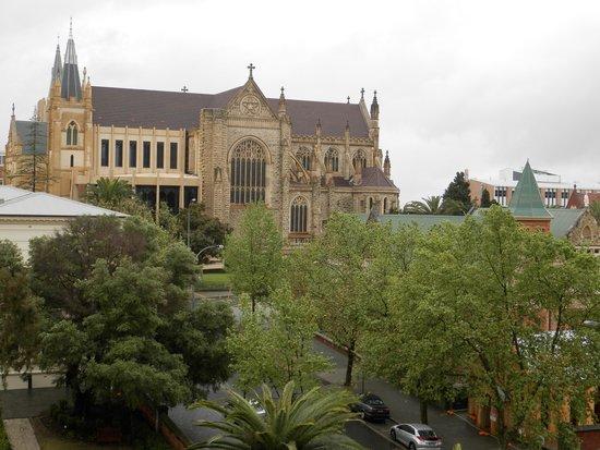 Travelodge Hotel Perth: vista dalla camera