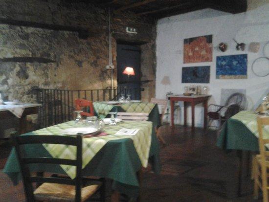 Fattoria di Petrognano: Interno del ristorante
