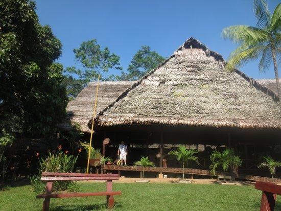 Amazonas Sinchicuy Lodge: El lodge