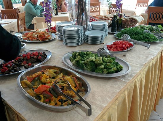 Family Spa Hotel Le Canne: parte del buffet
