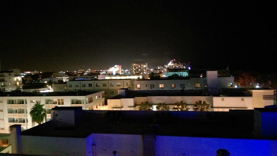The Park Central: View from Rooftop at Night