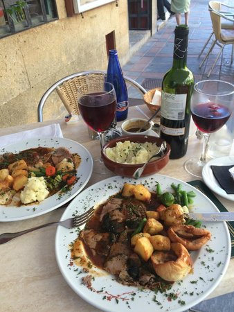 Cala Luna Restaurant: cant wait to tuck in