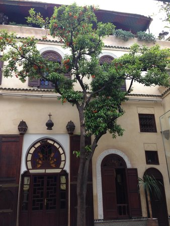 Riad Maison Bleue : il patio