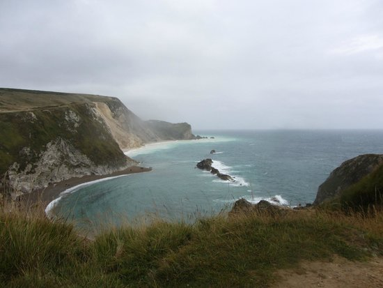 South West Coast Path- Lulworth Cove & The Fossil Forest Walk : Lulworth Cove