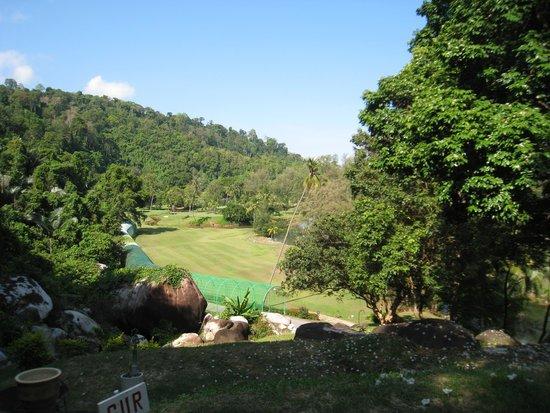 Tioman Island Golf Club: Hole nr 1