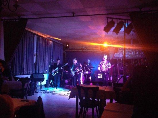 Restaurant a la couronne d'or : Irlande avant concert !