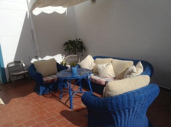 Hotel Emblemático 4 Esquinas: patio