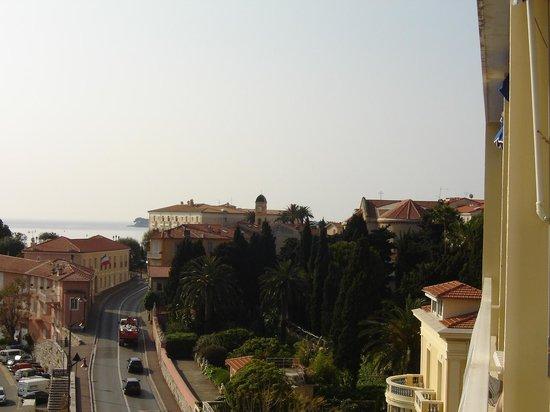 Inter Hotel Frisia : desde el balcón a la derecha