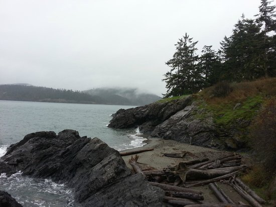 Oak Harbor, Ουάσιγκτον: Deception Pass West Beach
