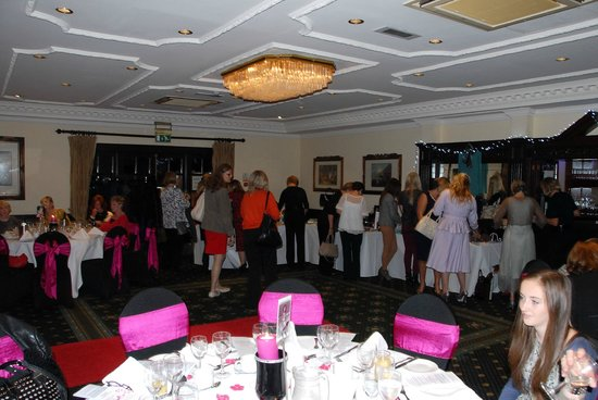 Grovefield House: This is the main function room where I hosted my Fashion Show