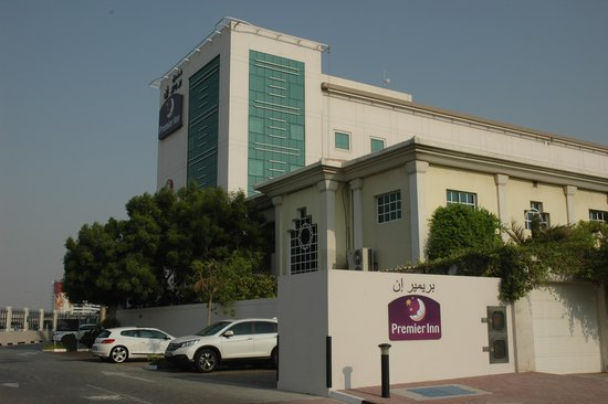 Premier Inn Dubai International Airport Hotel: A View from The Airport Side