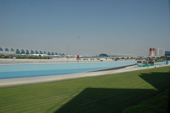 Premier Inn Dubai International Airport Hotel: A View To The Airport