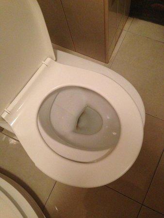 Hotel Casa Wagner: broken toilet seat!