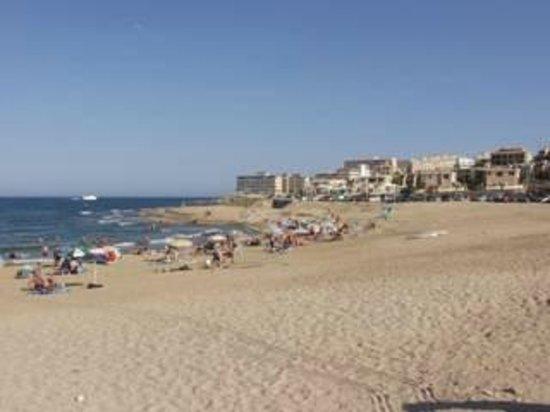 Playa de La Mata: La mata beach