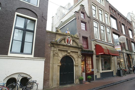 The Smallest House in Amsterdam