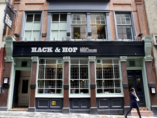 Photo of Bar Hack and Hop at 35 Whitefriars Street, London EC4Y 8BH, United Kingdom