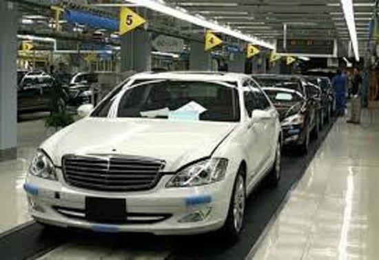 Production line mercedes benz factory plant tour for Mercedes benz factory in alabama